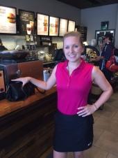 Nicole from Labatt's at Starbucks