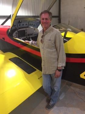 Alan and plane