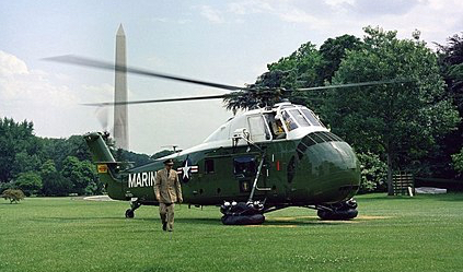 S-58 on White House lawn